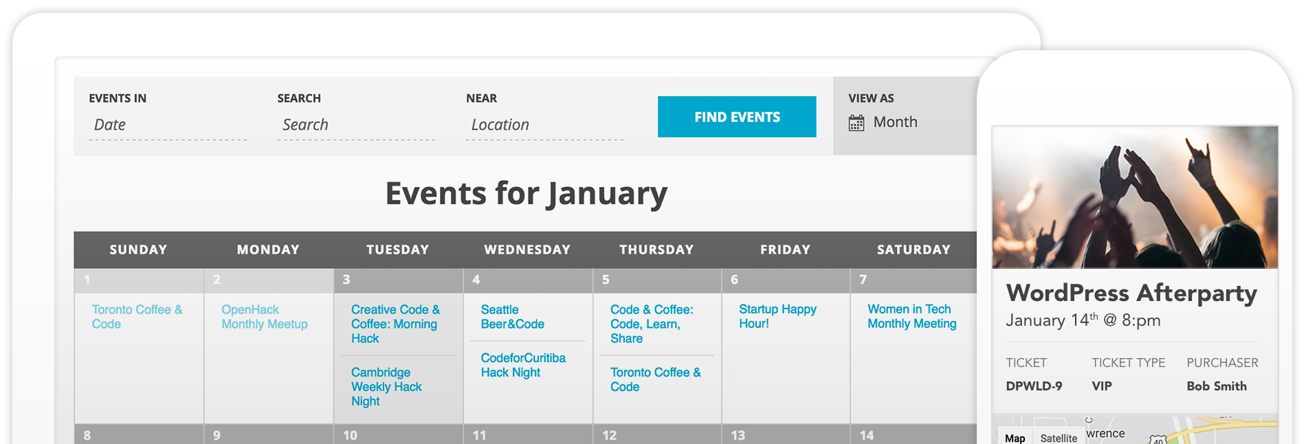 Event Calendar | The Events Calendar