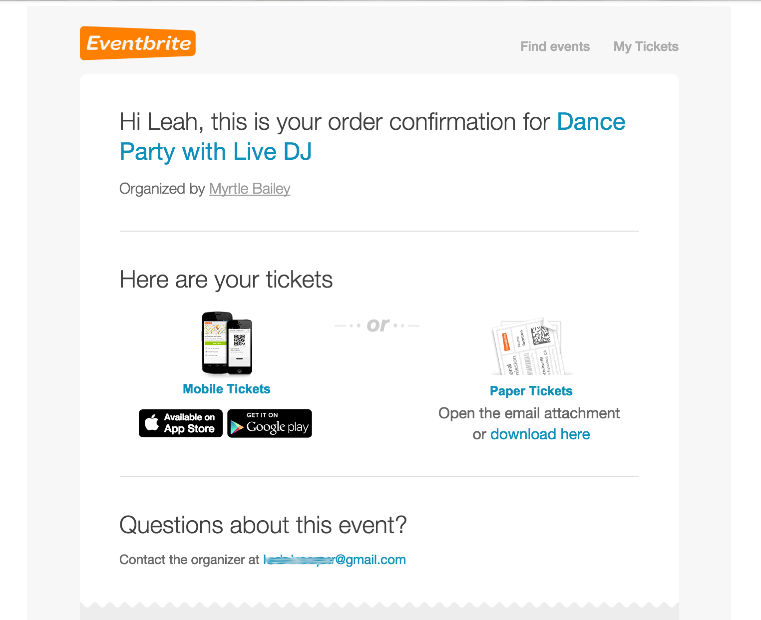 What is the best service for selling tickets to an event and then ...