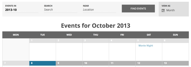 Change The Days Of The Week To Abbreviations The Events Calendar