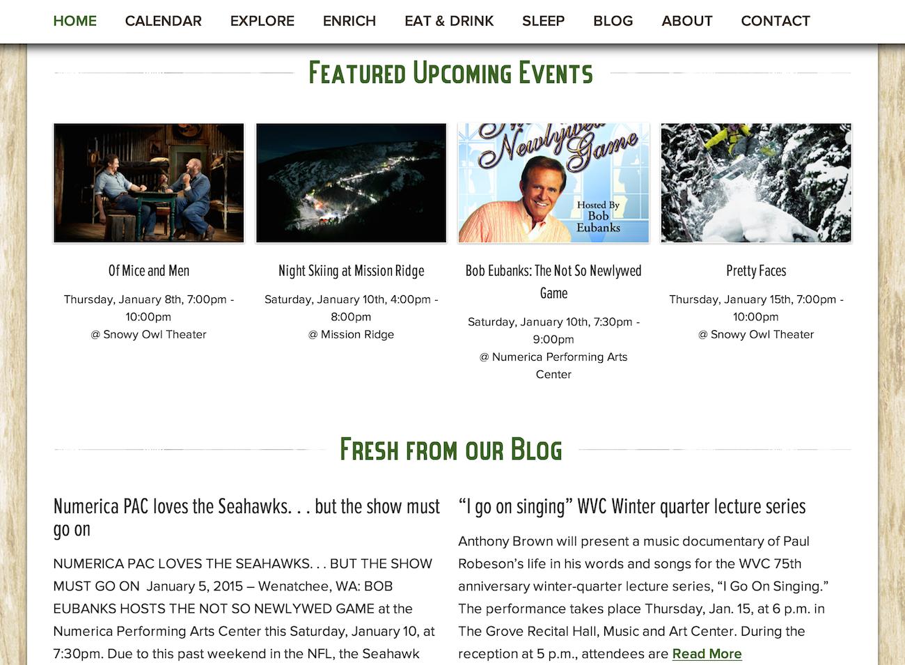 showcase - Wenatchee - home page featured