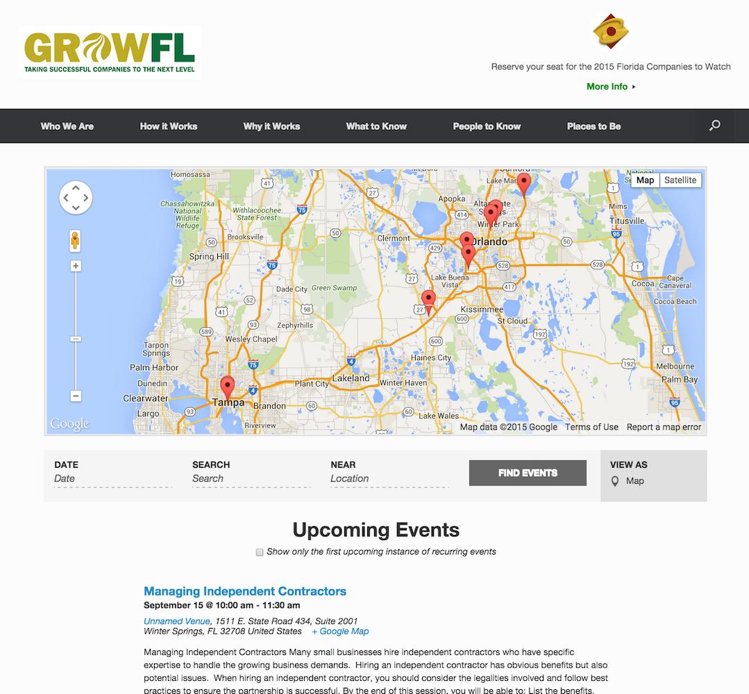showcase - growFL - map view