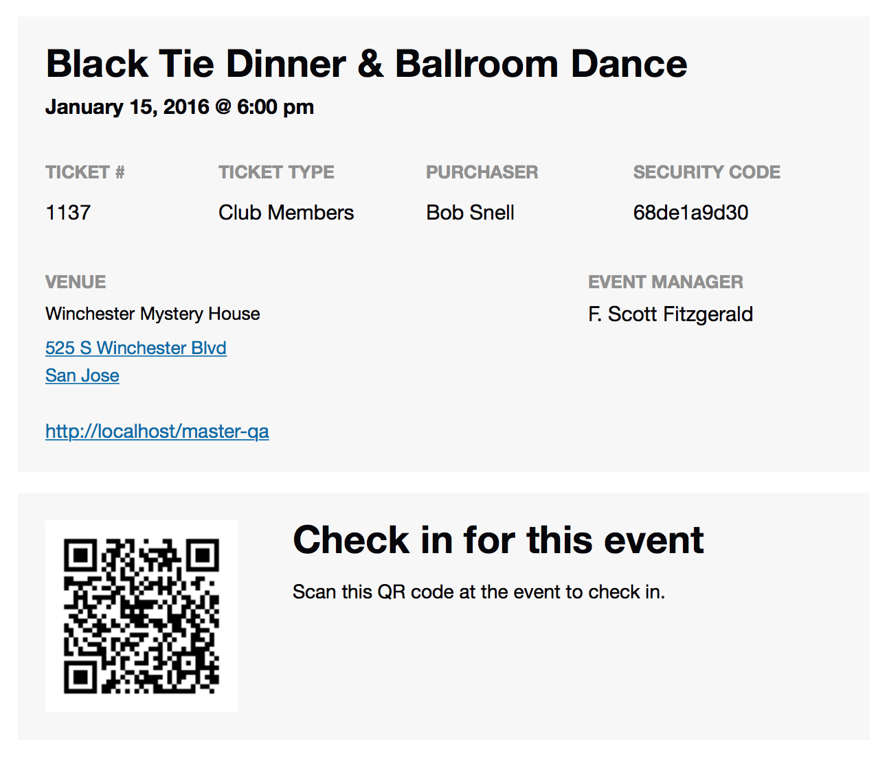 Event Tickets Plus   QR Code Ticket  Event Ticket Template Free Download