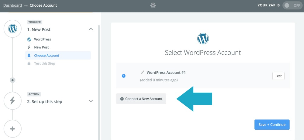 Event Promotion With Zapier: Connect Your WordPress Account