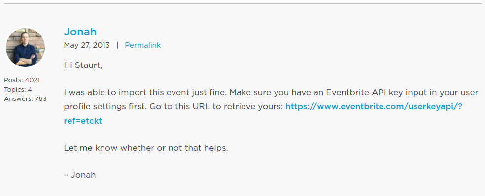 how to delete events from import eventbrite events plugin