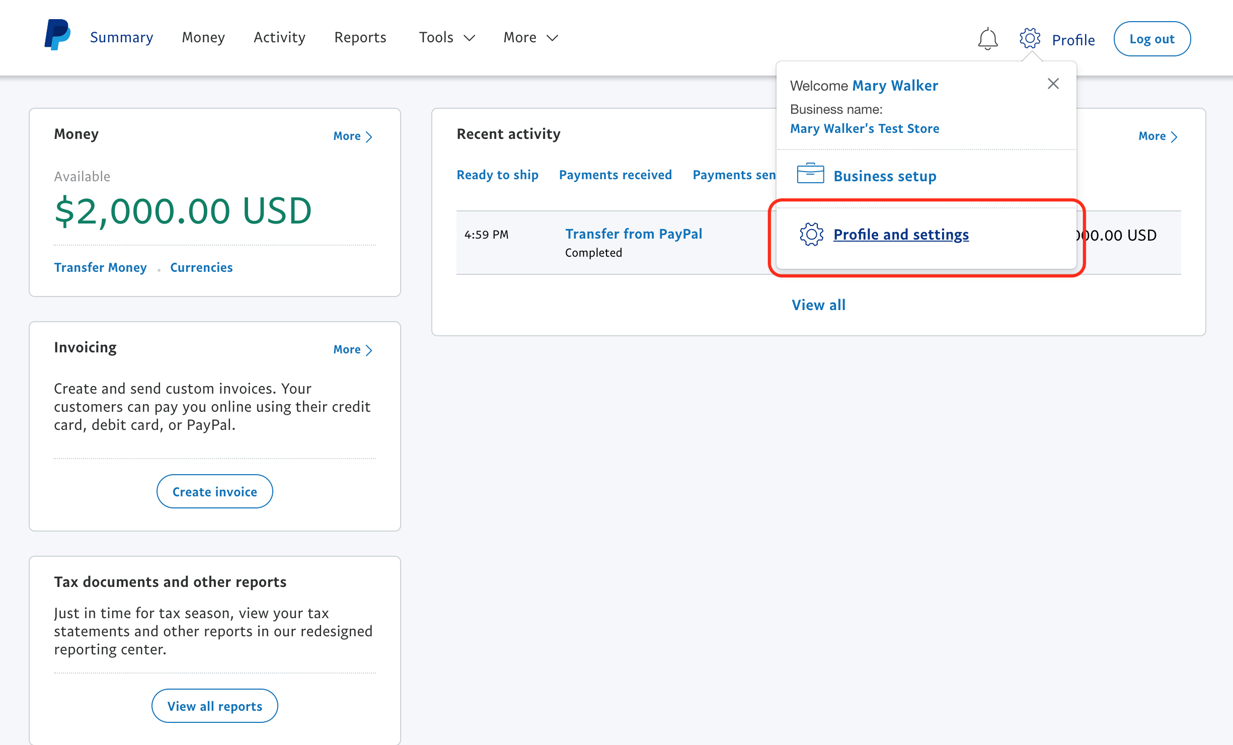 once in your profile go to my selling tools under the heading getting paid and managing my risk look for instant payment notifications and click update